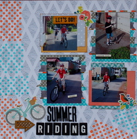Summer Riding * Guest Designer CHallenge #2*