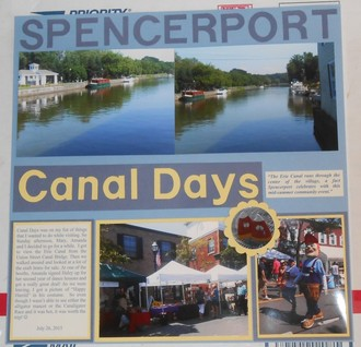 Spencerport Canal Days