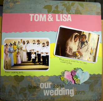 A Tom & Lisa 70s wedding
