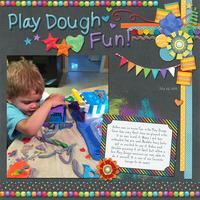Play Dough is so much Fun