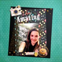 I Am Amazing (Oct. 2015 Guest Designer Challenge #4 Very Quick)