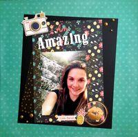 I Am Amazing (Oct. 2015 Guest Designer Challenge #4 Very Quick)