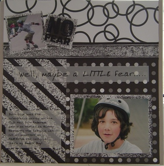 """""""No Fear"""" Rollerblading - 2 pages"""