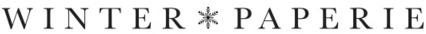 winter paperie teresa collins