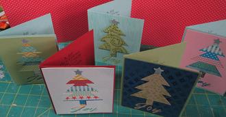 Washi Tree Cards