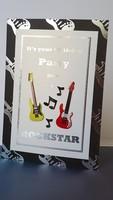 Rockstar birthday card