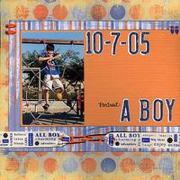 Portrait: A Boy