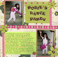 Rosie's Dance Party