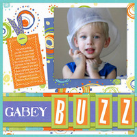Buzz Lightyear 2 Page Spread