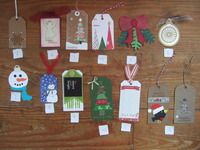 2015 Christmas Tag Swap unknown