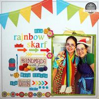 Rainbow Skarf