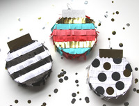 Mini Piñatas Holiday Ornaments