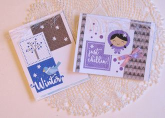 Note Cards Polar Pals