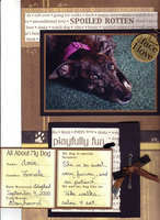 It's a dog's Life (with mini book open) (As seen in Pet Pages Unleashed!)