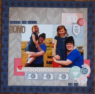 Their Special Bond/ Jan layout#2