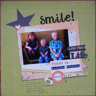 Smile/ Jan. Layout#3