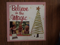 Believe in the Magic/Jan. Layout #13