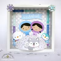 Doodlebug Polar Pals Shadow Box