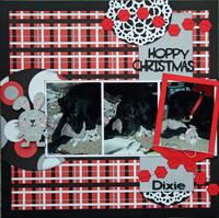 Hoppy Christmas Dixie