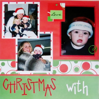 Christmas With My Girls!! 2004 - Pages 1 & 2