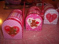 Valentine's Day Mini Mailboxes