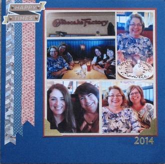 The Cheesecake Factory - Bonnie's Birthday