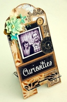 Curiosities Altered Phone Stand