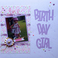 birth day girl (Feb. 2016 Washi Challenge)