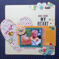 my heart (Feb. 2016 Supply List Challenge)
