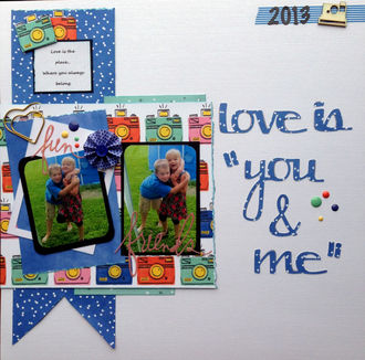 """love is """"you & me"""" (Feb. 2016 Release Your Inner Child Challenge)"""