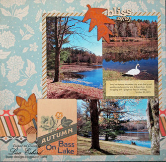 Fall Page with Persimmon