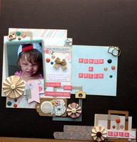 SUGAR & SPICE (March 2016 Randomness and Mood Board Challenges)