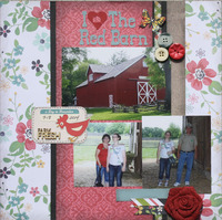 I (heart) the red barn-Conner Prairie