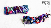 Sari Fabric Barrettes