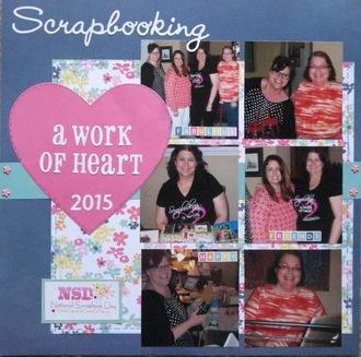 Scrapbooking: a work of heart