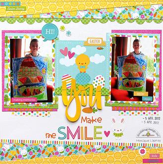 You Make Me Smile - Doodlebug Bunnyville