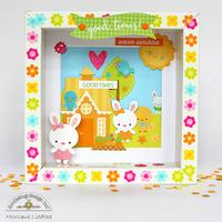 Doodlebug Bunnyville Shadow Box