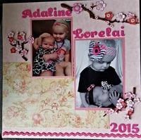 Adaline and Lorelai 2015