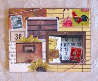 Note Card Frame and Books