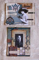 Note Cards Vintage Women 2