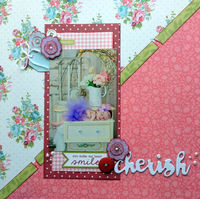 cherish (March 2016 Use Your Stash and Smash Up Challenges)