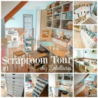 Scraproom Tour: Fabienne