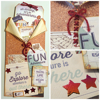 Travel Tag/Gift Card Holder