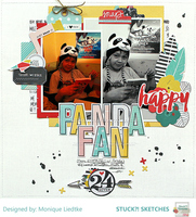 Panda Fan - Fancy Pants