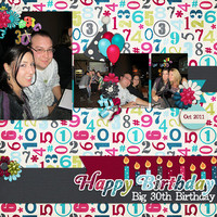 Big 30th Birthday