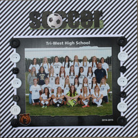Soccer team -Sophomore year
