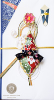 Kimono Inspired Chandelier Pendant