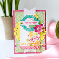 Happy Birthday card **Echo Park**