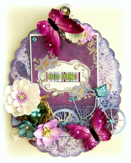 Hello Spring Altered Clipboard
