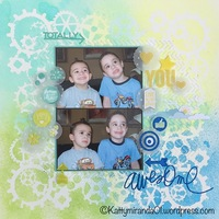 Totally Awesome You 12x12 Layout